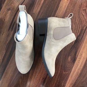 Brand new taupe booties